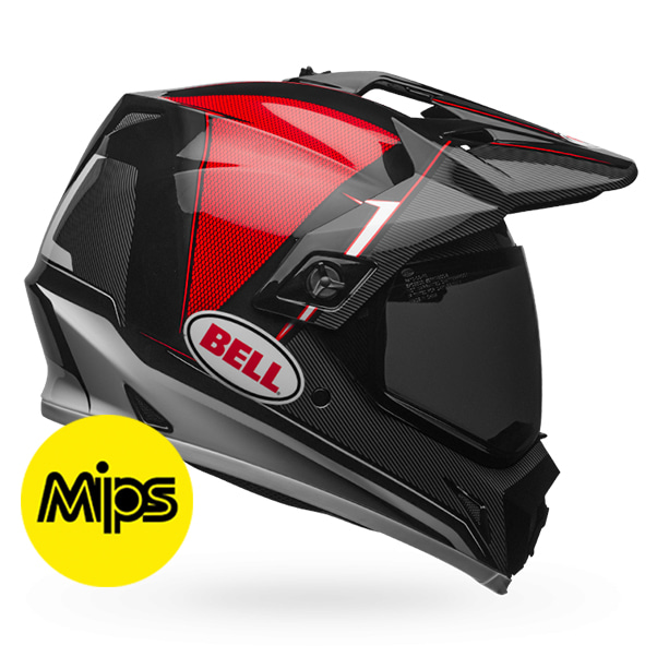 MX-9 ADV BERM BLACK/RED/WHITE MIPS