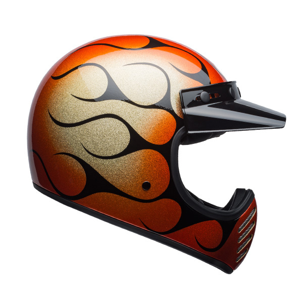MOTO-3 CHEMICAL CANDY FLAMES ORANGE/BLACK