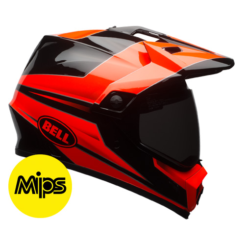 MX-9 ADV STRYKER FLO ORANGE BLACK MIPS