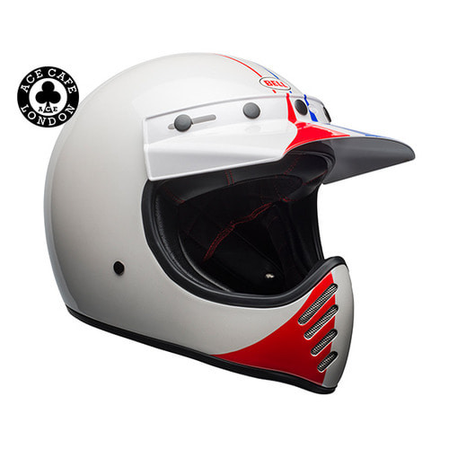MOTO-3  SPECIAL ACE CAFE GP 66 WHITE/RED