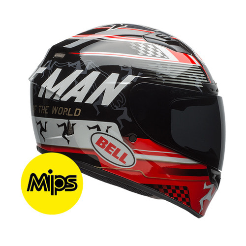 QUALIFIER DLX ISLE OF MAN BLACK/RED