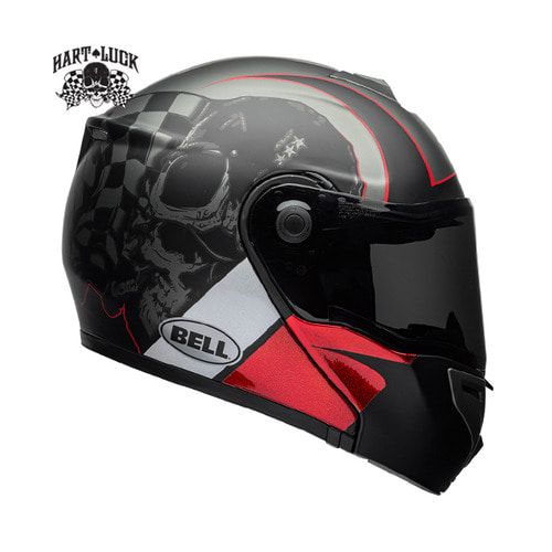 SRT-MODULAR HART-LUCK CHARCOAL/WHITE/RED SKULL