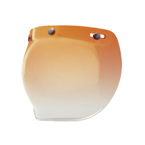 3-SNAP BUBBLE SHIELD AMBER GRADIENT