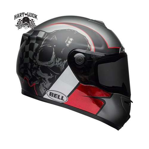 SRT HART-LUCK CHARCOAL/WHITE/RED SKULL