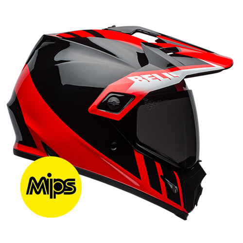 MX-9 ADV DASH BLACK/RED/WHITE MIPS