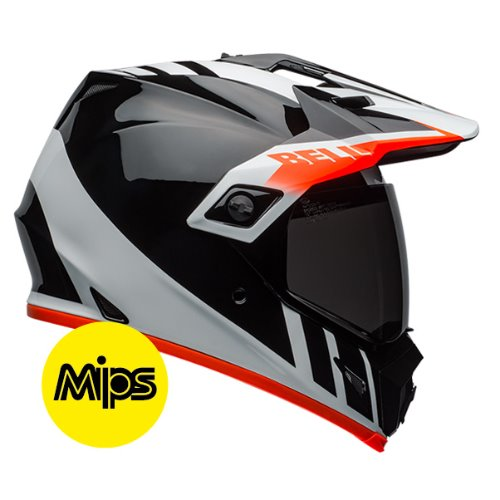 MX-9 ADV DASH BLACK/WHITE/ORANGE MIPS