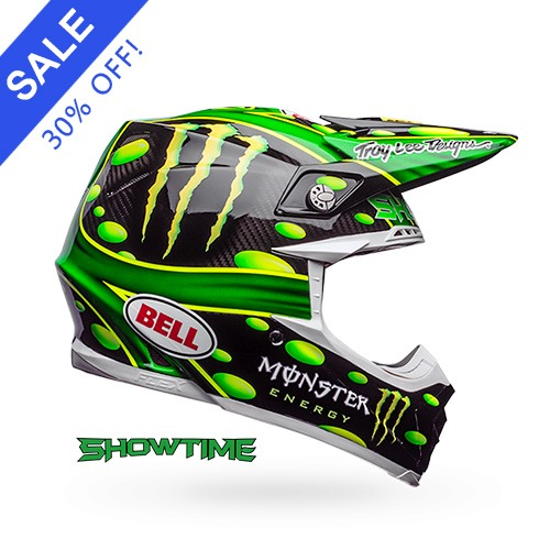 MOTO-9 CARBON FLEX MC MONSTER BLACK/GREEN